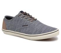 Jack & Jones JFW Heath Chambray Sneaker in blau
