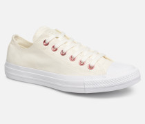 Chuck Taylor All Star Hearts Ox Sneaker in weiß