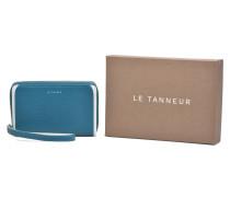 AGATHE Portemonnaie zippé téléphone Portemonnaies & Clutches für Taschen in blau