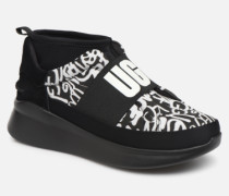 Neutra Sneaker Graffiti Pop in schwarz