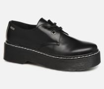 50713 Schnürschuhe in schwarz