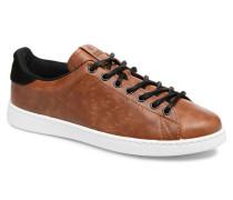 Deportivo Pu Contraste Sneaker in braun