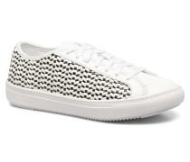 Jane Woven Sneaker in weiß