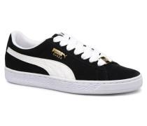 Suede Cl Bboy Fab Sneaker in schwarz