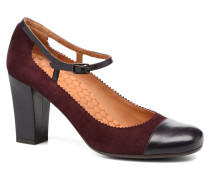 Arara Pumps in weinrot