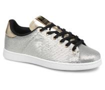 Deportivo Lentejuelas Sneaker in silber