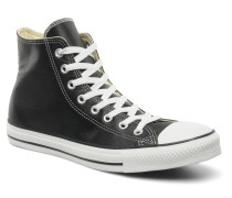 Chuck Taylor All Star Leather Hi M Sneaker in schwarz