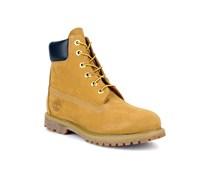 6 in premium boot w Stiefeletten & Boots gelb