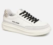 Abbey Bass C Sneaker in weiß