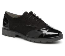 MELOC Schnürschuhe in schwarz