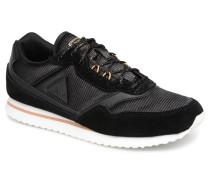 Louise Metallic Sneaker in schwarz