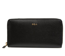 Zip Around Wallet Portemonnaies & Clutches in schwarz