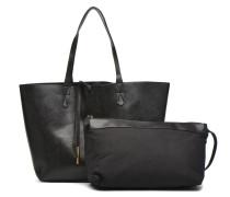 BADONA Cabas Handtasche in schwarz