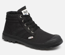 Retro Lite Supply Sneaker in schwarz