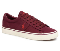 Sayer Canvas Sneaker in weinrot