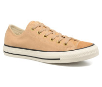 Chuck Taylor All Star Pony Hair Ox Sneaker in beige
