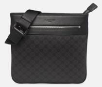 SQUAD CROSSBODY PLAT Herrentasche in schwarz