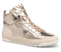 MIASSI Sneaker in goldinbronze