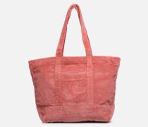 PP TOTE CORDUROY Handtasche in rosa
