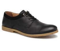 FLAVESTON Schnürschuhe in schwarz