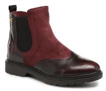 047351 Stiefeletten & Boots in weinrot