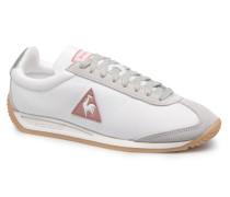 Quartz W Feminine NyloninGum Sneaker in weiß