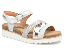 Thina Sandalen in silber