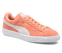 Suede Classic Wn's Sneaker in orange