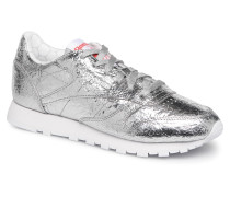 Classic Leather HD Sneaker in silber