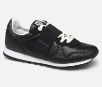 Verona W New Elastic Sneaker in schwarz