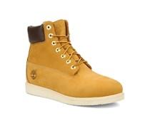 6 in wedge Stiefeletten & Boots braun