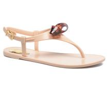 Fold Sandalen in beige