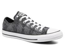 Chuck Taylor All Star Lurex Snake Ox Sneaker in grau