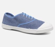 Tennis Déperlantes Sneaker in blau