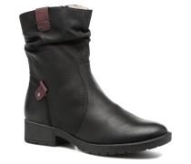 Lino Stiefeletten & Boots in schwarz