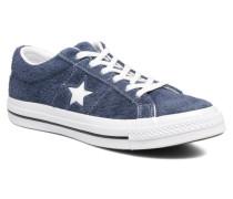 One Star OG Suede Ox W Sneaker in blau