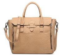 Sofia croco Handtasche in beige