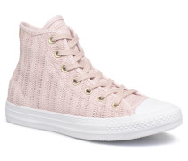 Chuck Taylor All Star Herringbone Mesh Hi Sneaker in rosa