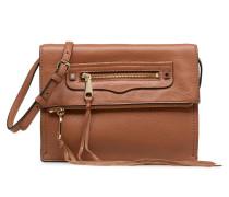 SMALL REGAN CLUTCH Handtasche in braun