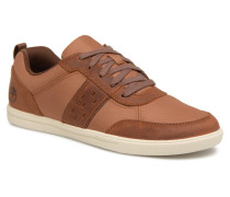 Fulk Mixed Ox Sneaker in braun