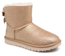 W Mini Bailey Bow Sparkle Stiefeletten & Boots in goldinbronze