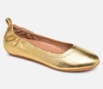 Allegro Ballerinas in goldinbronze