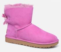 W Mini Bailey Bow II Stiefeletten & Boots in rosa