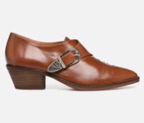 Soft Folk Chaussures à Lacets #1 Stiefeletten & Boots in braun