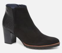 Thais 7224 Stiefeletten & Boots in schwarz