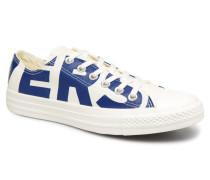 Chuck Taylor All Star Wordmark Ox W Sneaker in weiß