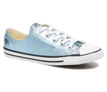 Chuck Taylor All Star Dainty Ox Metallics Sneaker in blau