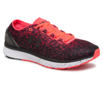 UA Charged Bandit 3 Ombre Sportschuhe in rot