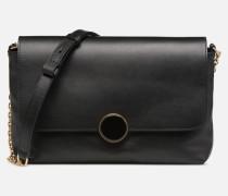 Moon Souple Handtasche in schwarz