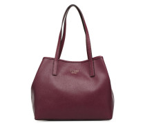 VICKY TOTE Handtasche in weinrot